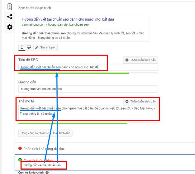 hướng dẫn viết bài chuẩn seo - cách đặt tiêu đề, mô tả